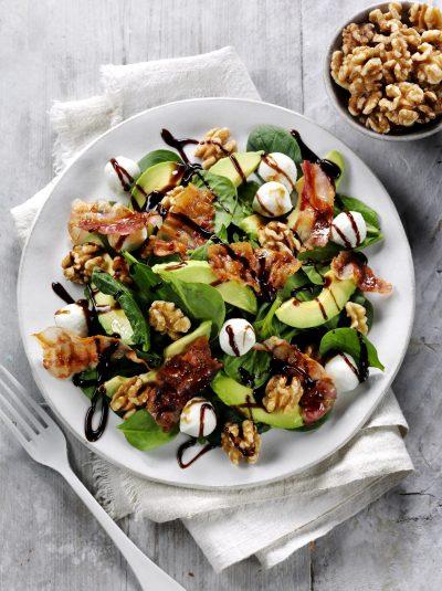 Pancetta, California Walnut & Mozzarella
