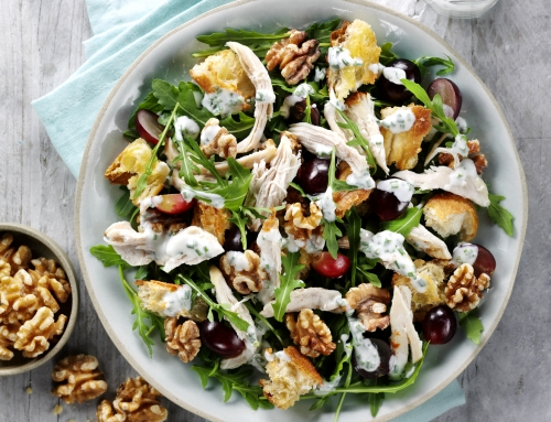 Chicken, California Walnut & Grape Salad