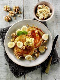 Walnut Pancakes