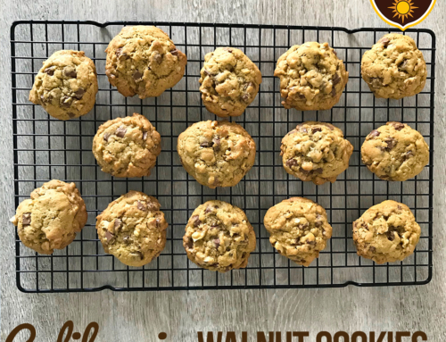 Step-by-step guide to making Chocolate Chip & Walnut Cookies