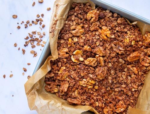 California Walnut & Cacao Granola by Healthy Living James