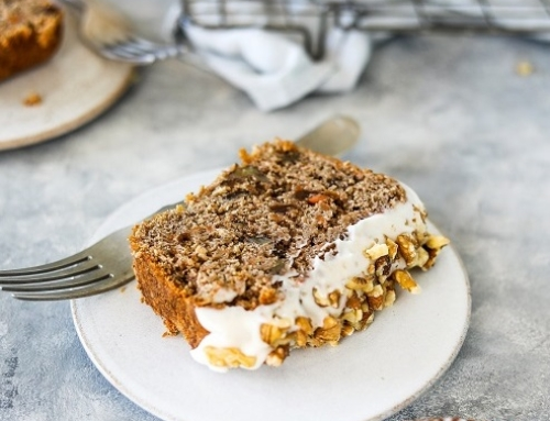 Carrot Cake Loaf by Luce Hosier