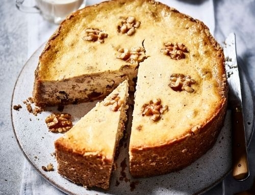 Walnut & Mincemeat Cheesecake