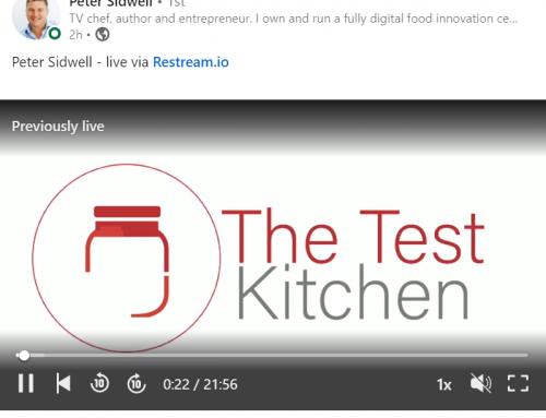 Test Kitchen Series- Episode 1