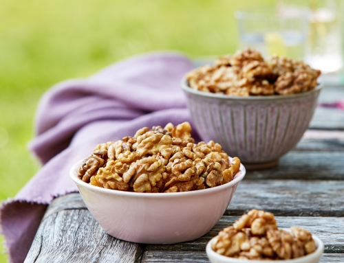 Get #SnackingCracked with a handful of California Walnuts